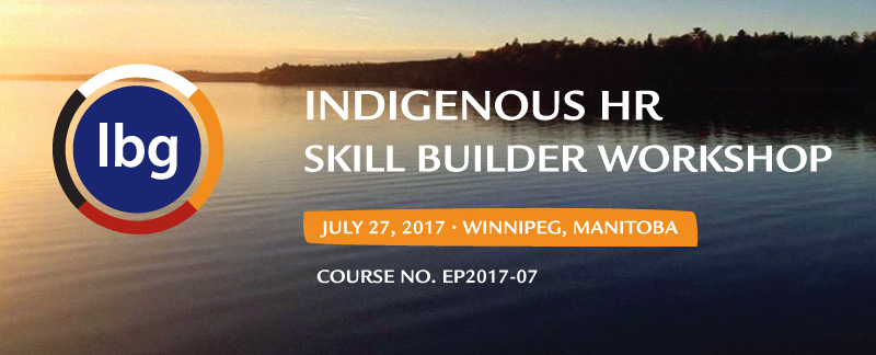 2017 Indigenous Leadership Workshop
